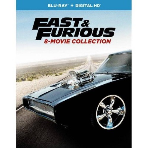 Fast & Furious: 8-Movie Collection [Blu-Ray] [Digital HD]