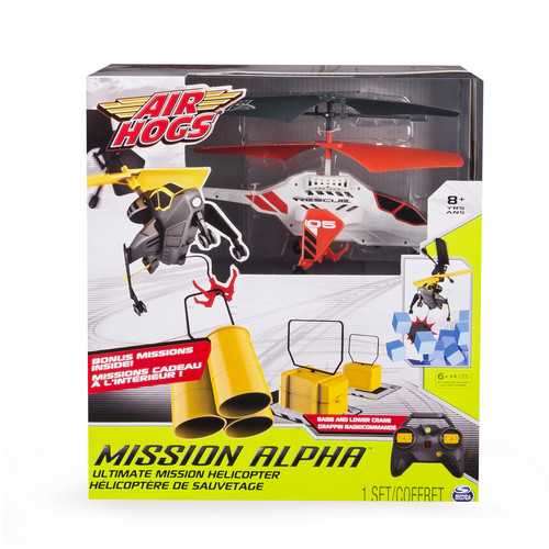 Air Hogs Mission Alpha Ultimate Mission RC Helicopter - White