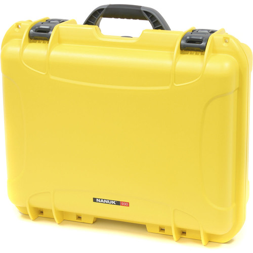 930 Case with Padded Dividers (Yellow)