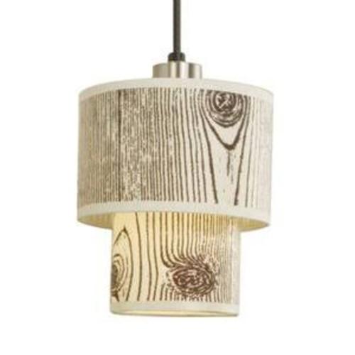 Lights Up! Rs-9206bn-peb Deco Mini Pendant Pebble Silk Glow