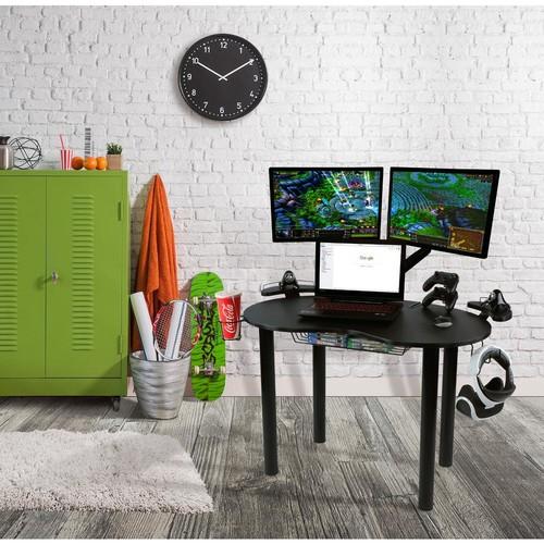 Eclipse Black Gaming Desk
