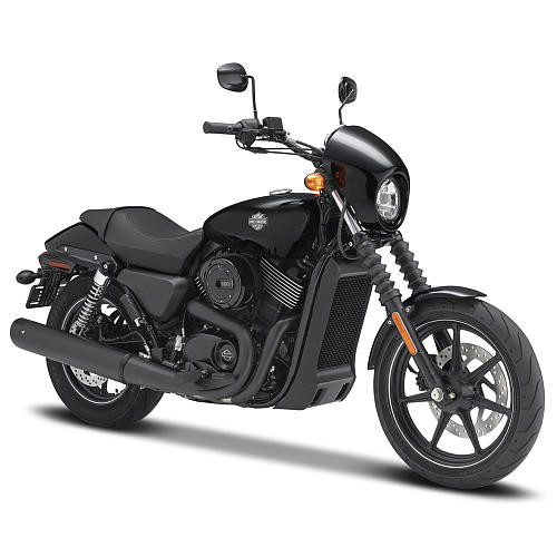 Maisto Harley-Davidson 1:12 Scale Diecast Motorcycle - Black 2015 Street 750