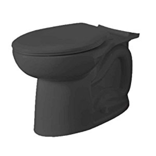 American Standard 3717A001.178 Cadet 3 FloWise Right Height Elongated Toilet Bowl Only in Black