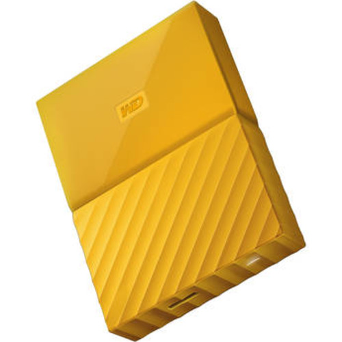 4TB My Passport USB 3.0 Secure Portable Hard Drive (Yellow)