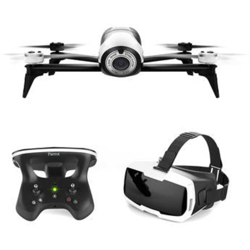 BeBop 2 Drone with FPV Bundle (White)