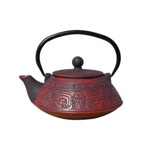 Dutch Kodai 3.5-Cup Teapot in Red and Black