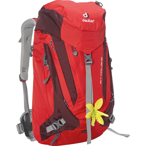 Deuter ACT Trail 28 SL Daypack Fire/Aubergine