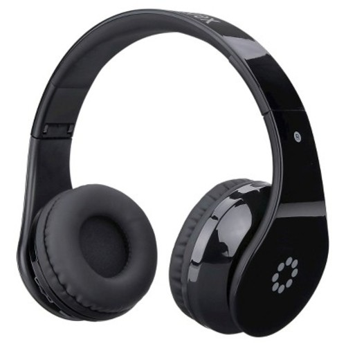 Memorex Bluetooth Headphones with Touch Control - Black (MHBT0245BK)
