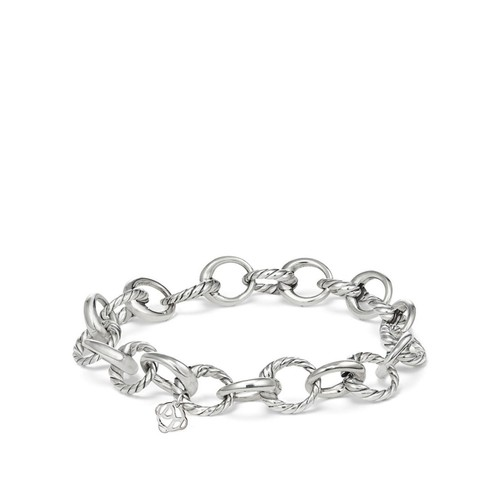 Amulet Oval Link Charm Bracelet