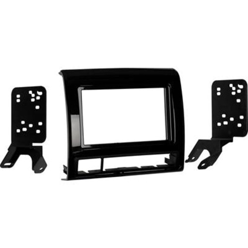Metra 95-8235 Dash Kit (Black) Fits select 2012-up Toyota Tacoma models  double-DIN radios
