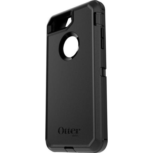 OtterBox - Defender Series Case for Apple iPhone 7 Plus and iPhone 8 Plus - Black