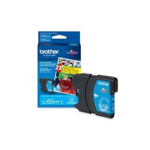 Brother Lc65Hyc High-Yield Ink Cartridge, 750 Page-Yield, Cyan
