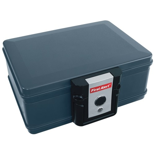 First Alert 2013F .17 Cubic Foot Gray Fire & Water Chest