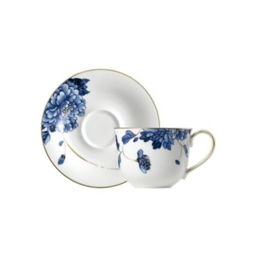 Two-Piece Emperor Flower Teacup and Saucer