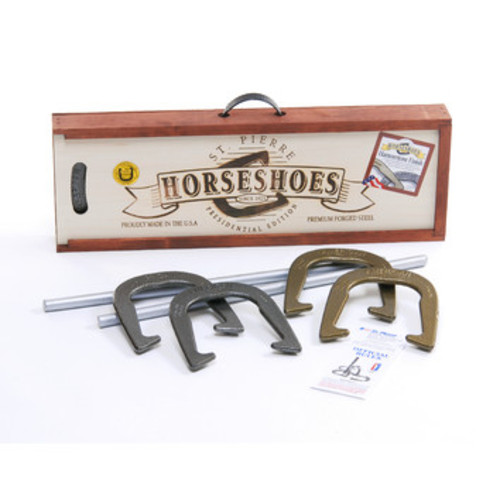 American Presidential Horseshoe Game Set