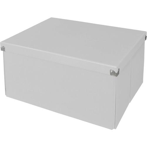Samsill Pop n' Store Mega Box - White - 15.5