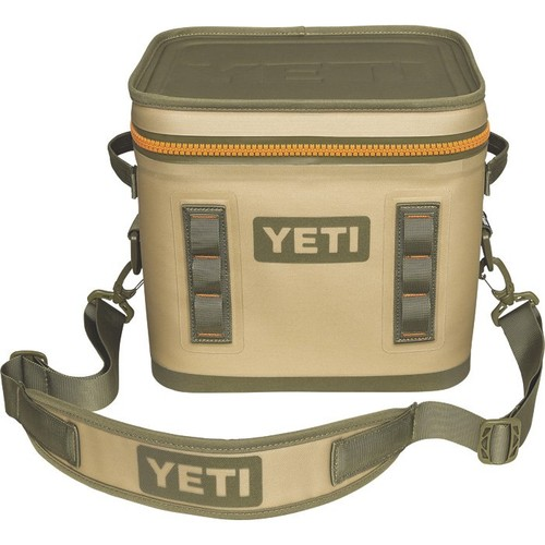 Yeti Hopper Flip 12 Cooler  Field Tan, 12.63in.L x 10in.W x 11.5in.H