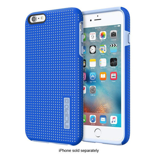 Incipio - DualPro Highwire Hard Shell Case for Apple iPhone 6 Plus and 6s Plus - Blue