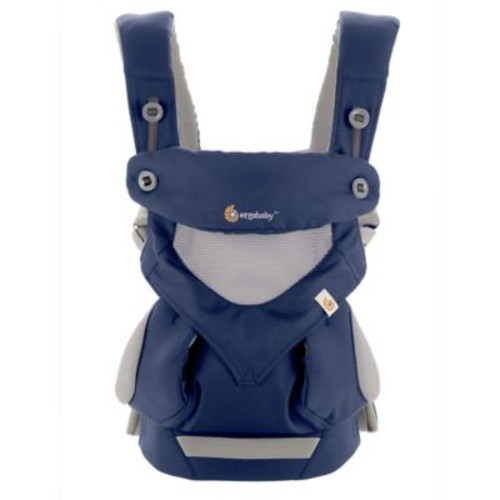 Ergobaby 360 All Carry Positions Cool Air Mesh Baby Carrier in French Blue