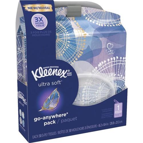 Kleenex Ultra Soft Go-Anywhere Facial Tissues - 46355
