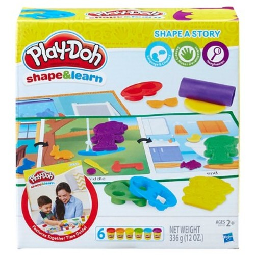 Play-Doh Shape and Learn Shape a Story