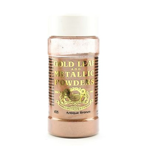 Gold Leaf And Metallic Co. Metallic And Mica Powders Antique Bronze 1 Oz. (GLMP-0026-002)