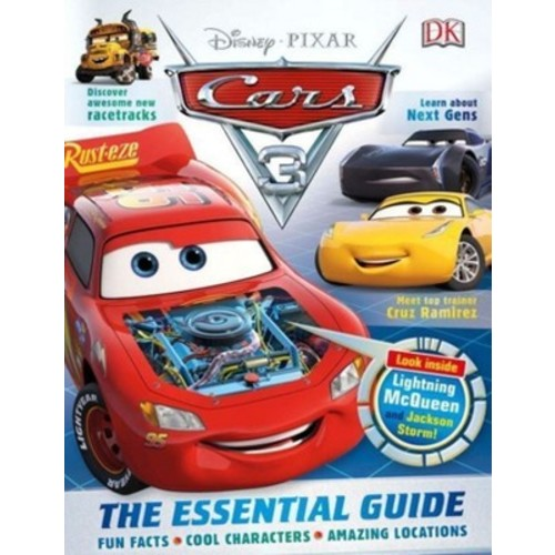 Disney Pixar Cars 3 : The Essential Guide (Hardcover)