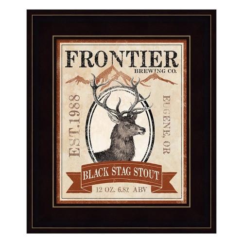 Frontier Brewing I Framed Wall Art