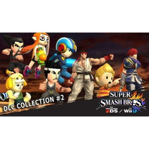 Super SmashBros DLC Collection 2 - Nintendo 3DS - Email Delivery