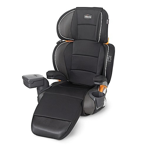 Chicco KidFit Zip Luxe 2-in-1 Belt Positioning Booster Seat in Dolce