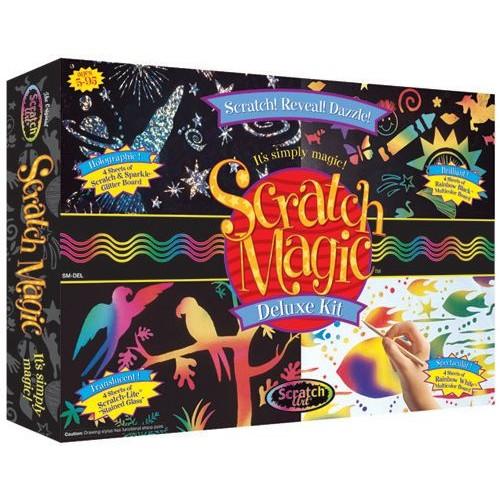Melissa & Doug Scratch Magic Deluxe Kit (Smdel)
