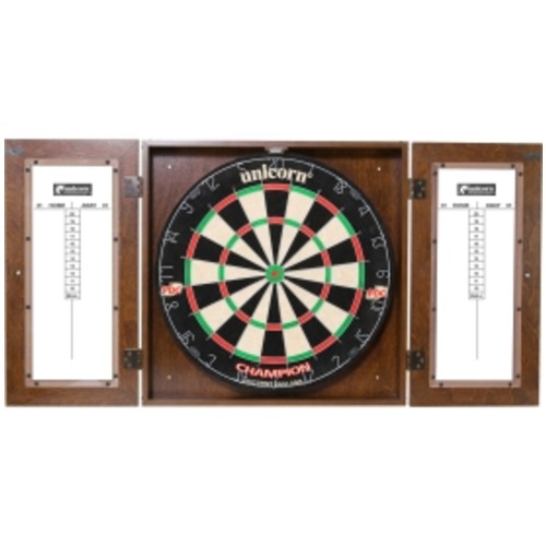 Unicorn Dynasty Bristle Dartboard Cabinet Set