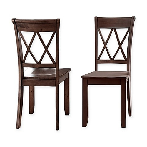 Steve Silver Co. Aida Side Chairs in Brown (Set of 2)