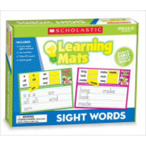 Sight Words Learning Mats