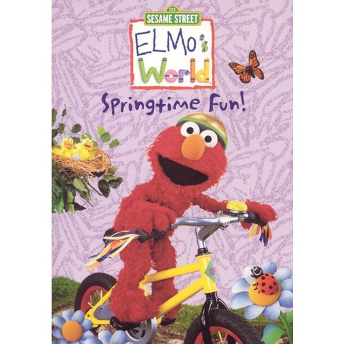 Sesame Street: Elmo's World - Springtime Fun [DVD] [2002]