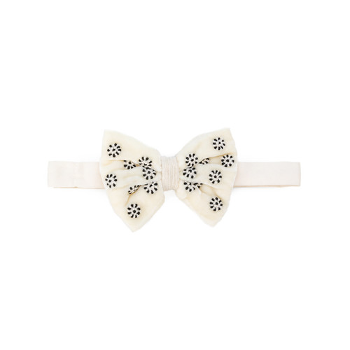 embellished bow tie