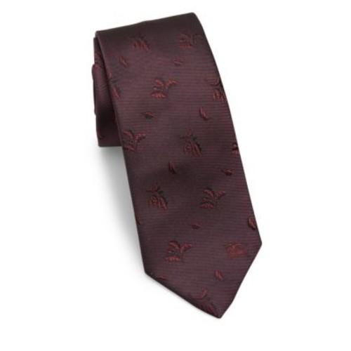 BURBERRY Manston Deep Clare Silk Tie
