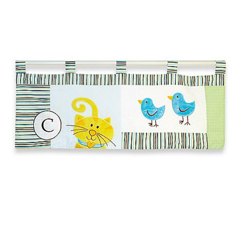 Country Home Laugh, Giggle & Smile ABC Animal Friends Valance