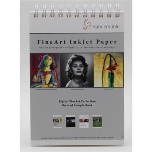 Hahnemuhle FineArt Paper Sample Book 5.83 x 8.27