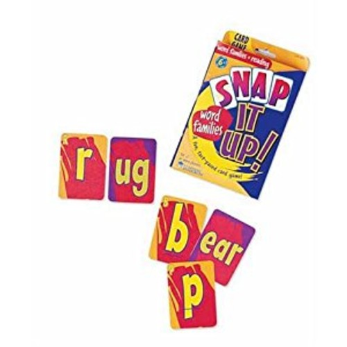 Learning Resources Snap It Up! Phonics & Reading Card Game [1]