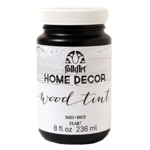 FolkArt Home Decor 8 oz. White Wood Tint Finish