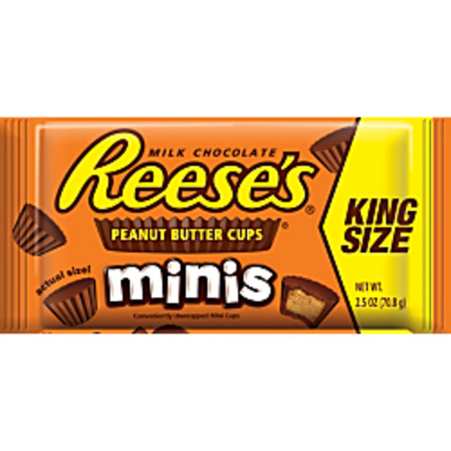 Reese's Peanut Butter Cups, Minis, 2.5 Oz