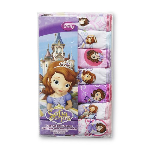 Disney Sofia the First Toddler Girl's 7-Pack Panties [Age : Toddler]