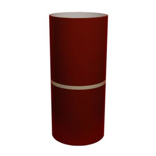 Amerimax Home Products 24 in. x 50 ft. Lighthouse Red and White Aluminum Trim Coil