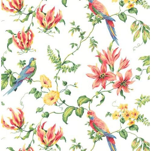 Green Book Birds Wallpaper