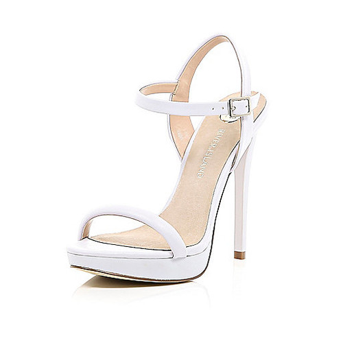 Light purple barely there sandals
