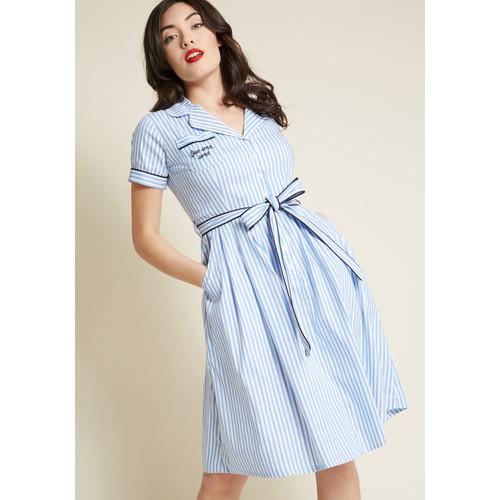 Que Sera Sera Shirt Dress