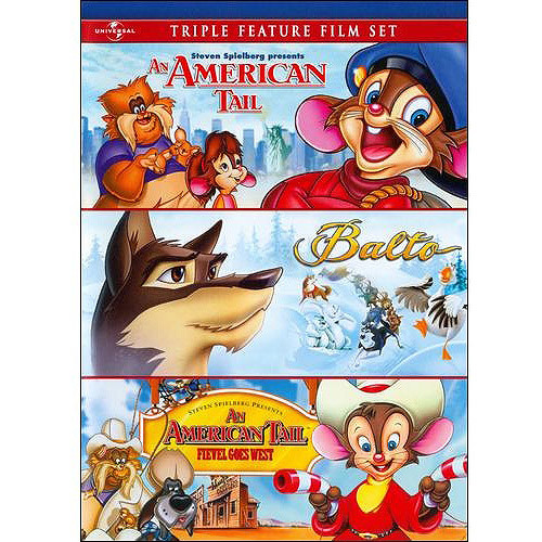 An American Tail/Balto/An American Tail: Fievel Goes West [2 Discs] [DVD]