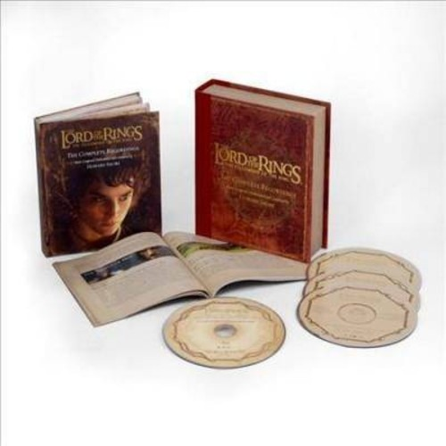 The Lord of the Rings: The Fellowship of the Ring  The Complete Recordings [CD]