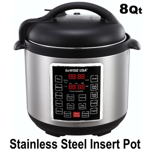 8-Quart 4th Generation Pressure Cooker